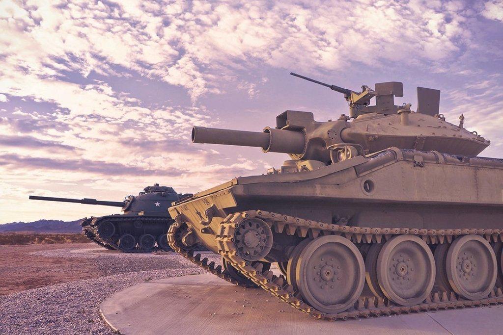 Tank Driving -