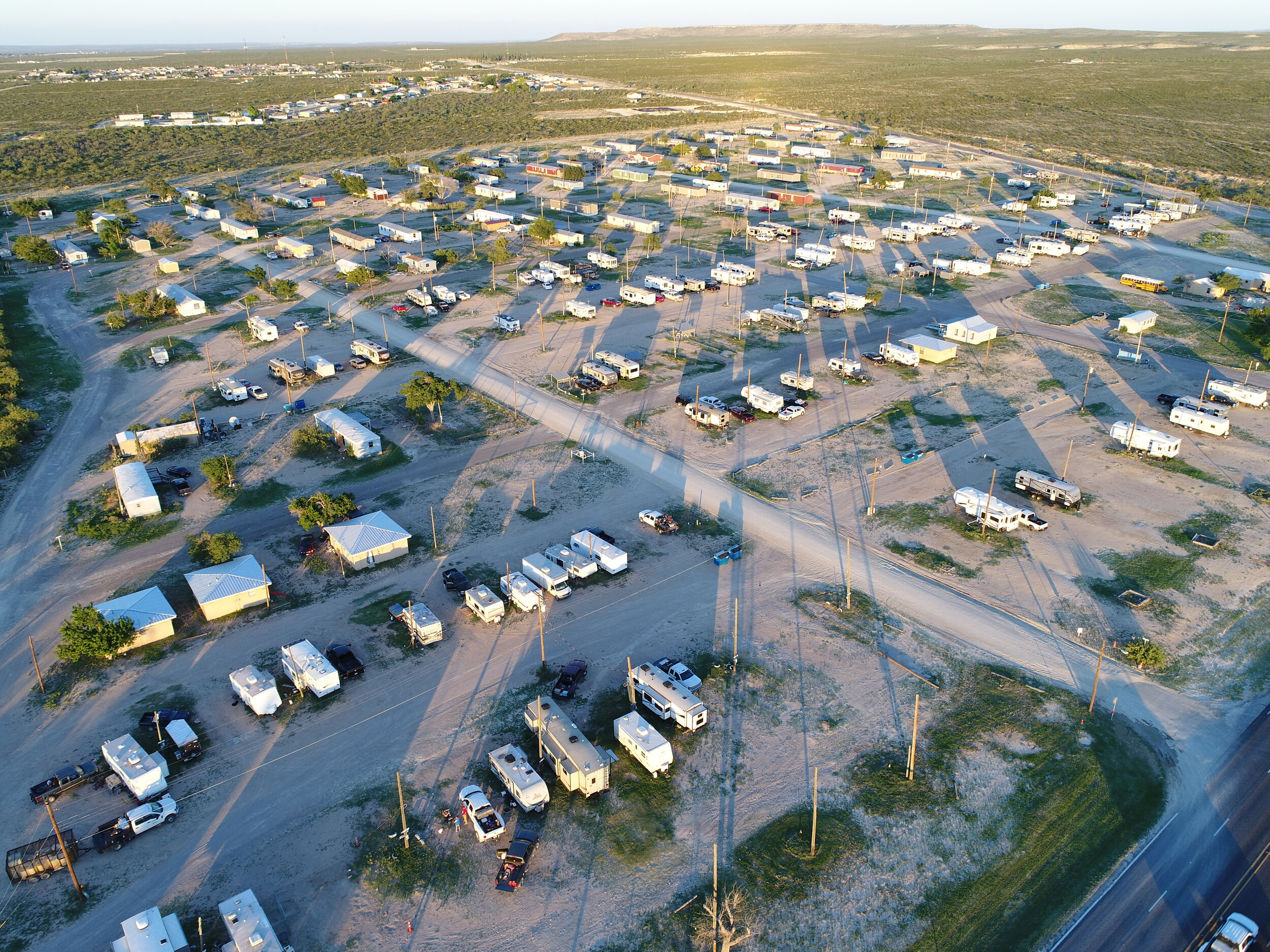 Road Runner is well located right in the heart of Fort Stockton