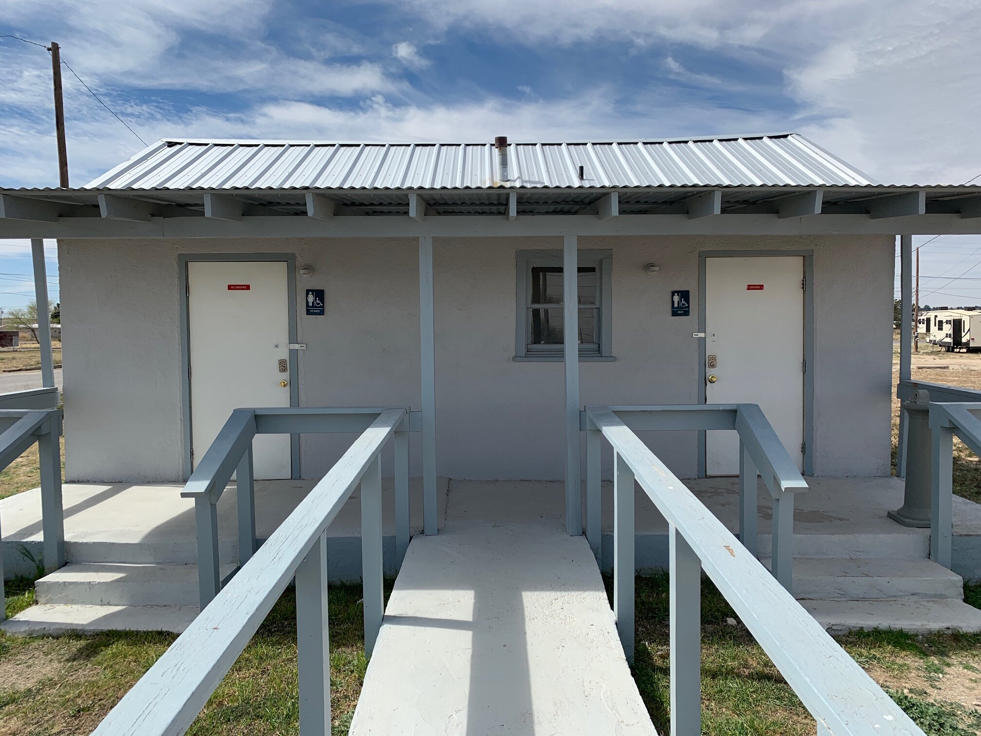 Great Bathroom and Laundry Facilities onsite! -