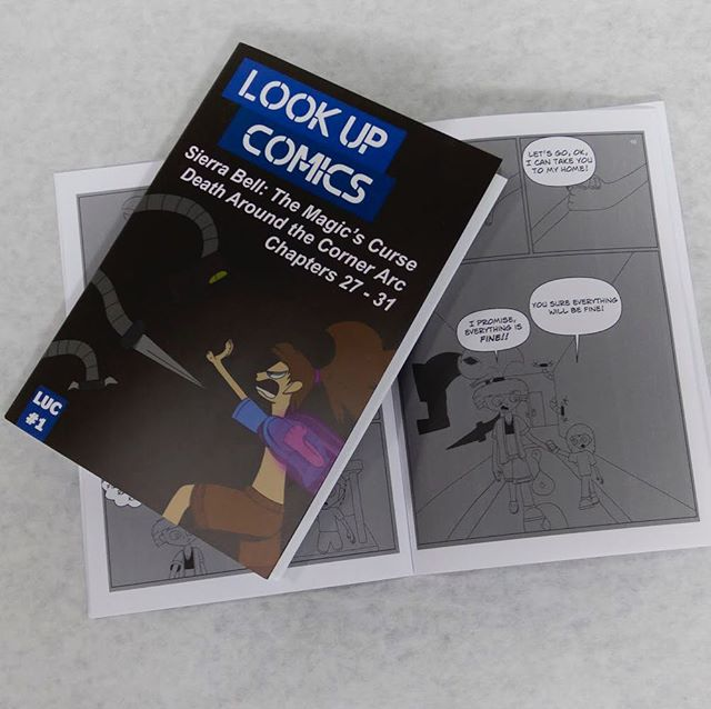 """Look Up Comics"" is a monthly anthology of comic series printed by @morrispublishing and mailed out to members on https://www.patreon.com/JohnCoday This provides 'Sierra Bell: The Magic's Curse' and future editions of comic series shipped each month to Patreon users. #LookUpComics There are still slots available for the $5 discount so get it quick before there gone! #comicseries #comicpublisher #illustration #webcomic #comicbooks #lifewater #kcai #sierrabell"