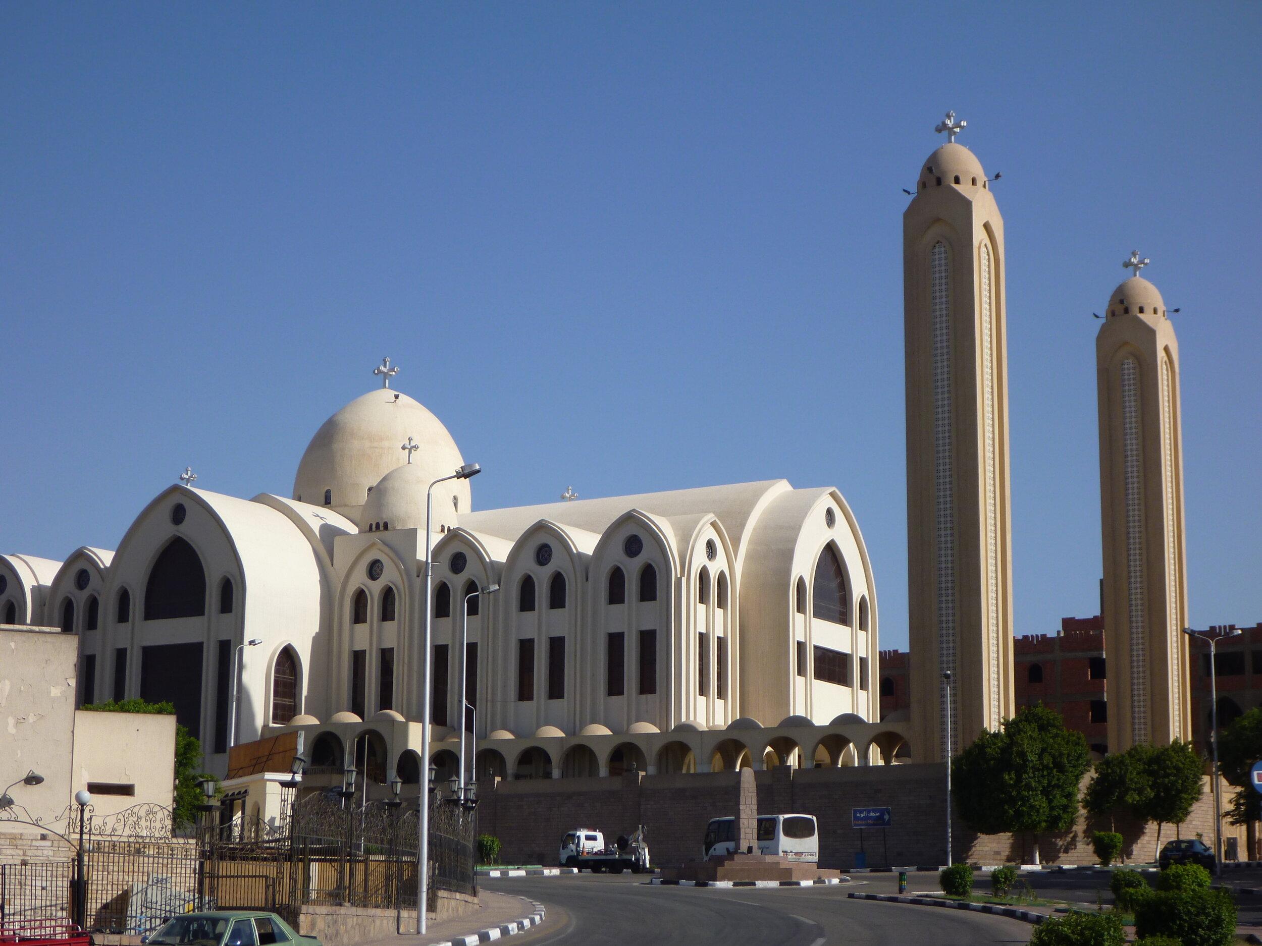 Archangel Michael's Coptic Orthodox Cathedral, Aswan, Egypt