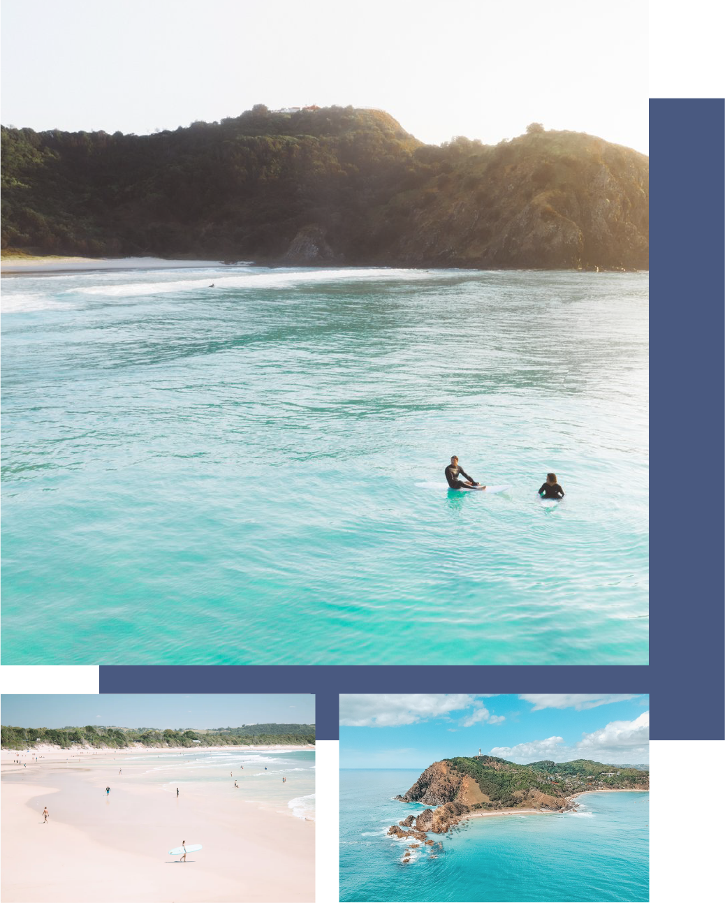 BEACHES - Whether you're heading to Tweed Heads for our FTL event, about to head up north on vacay or just in the mood for somewhere new, this is our list of must see beaches when you're in the area.- Cabarita Beach- The Pass- Dreamtime Beach- Broken Head- Tallows Beach- Dee-BahIf we had to choose, Broken Head is our fave. Only a 10-minute drive, south of Byron Bay it is the perfect little spot to explore if you're looking to escape the crowds and enjoy some untouched beaches.Images by @saxonkent and @photography_byron_bay