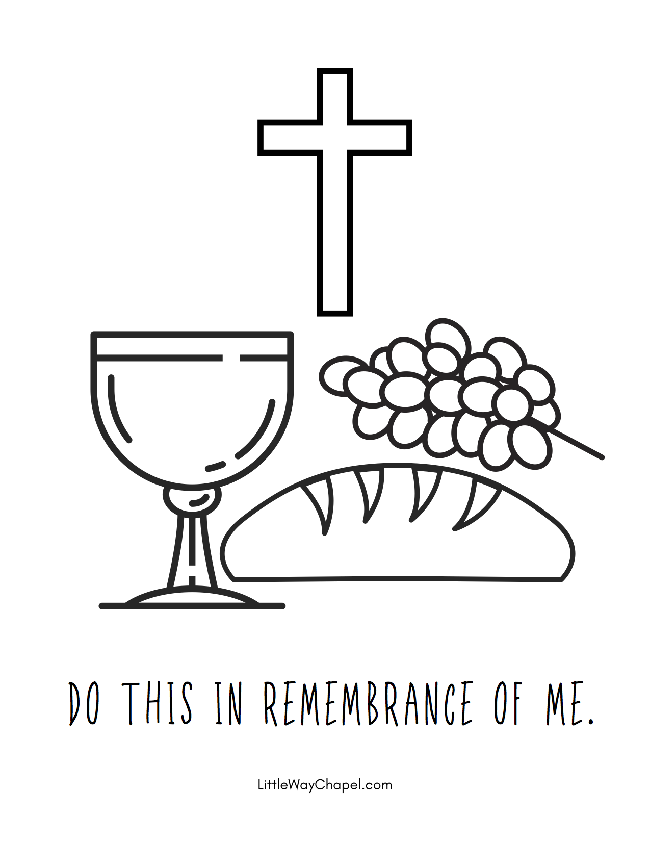 Holy Week Coloring Pages and Printables | 1293x1000