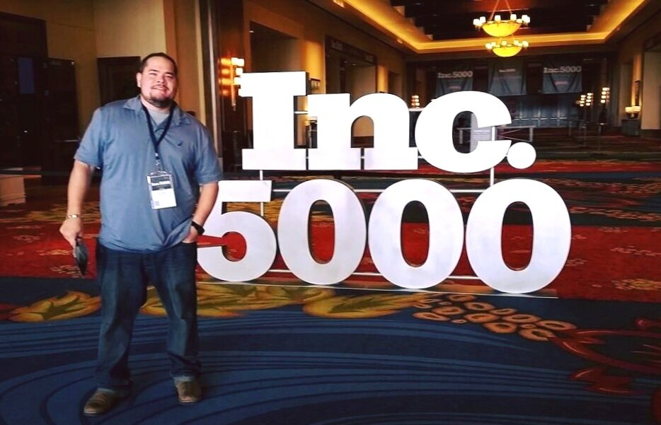 Rich Smith at Inc. 5000 Awards