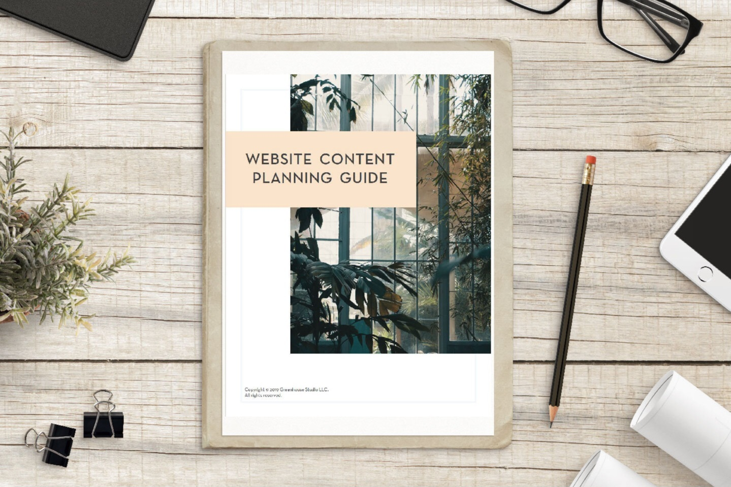 Greenhouse Studio website content planner for architects, landscape architects, interior designers, custom home builders & contractors, construction & real estate developers + investors, physicians + medical practices.