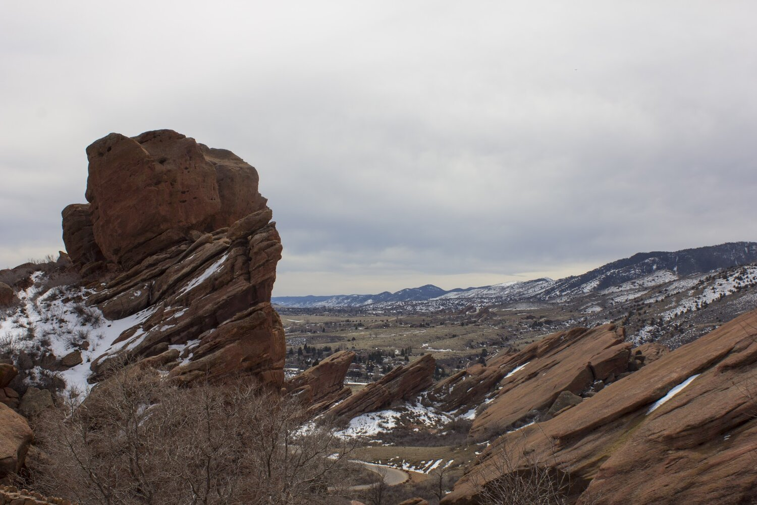 The gorgeous mountain views alone make Red Rocks National Park worth it. You can easily get lost in beauty and wonder when in Red Rocks. Be careful when walking the trails and taking pictures though, climbing on the rocks is not allowed off trail or you might get kicked out!