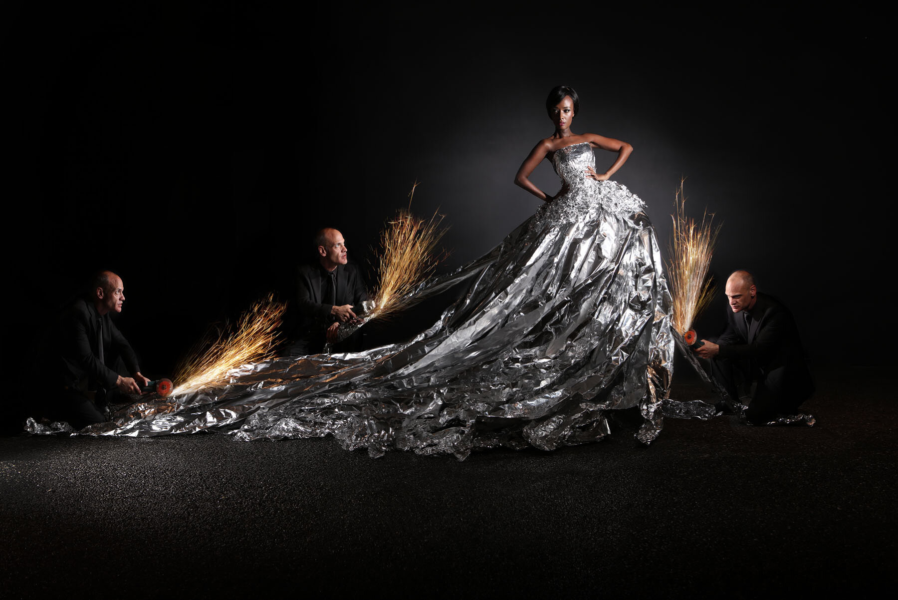tin foil wedding dress flat.jpg