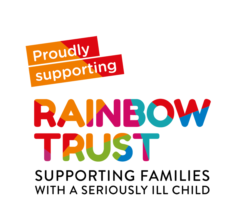 My Chosen Charity - The Rainbow Trust are my chosen charity partner and when you purchase a limited edition print or original artwork from my website you will also be supporting families with a seriously ill child as 10% of all proceeds go to the charity.