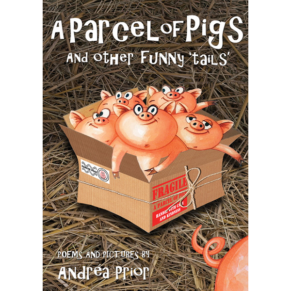 A Parcel of Pigsand other funny 'tails' - Learn new rhymes and get tongue-tied in this engaging selection of children's rhymes for children of 5 – 9 years. With colourful watercolour illustrations by the author, the rhymes are great to read aloud as well as being a fun and engaging way to help children with their reading skills.In A Parcel of Pigs children will meet the SCARIEST mother they have ever seen, they will discover how Humphrey the Hippo got so very lost, and how the naughty mouse outwitted the smart ginger cat.Click below to buy this book directly from my publisher's website.