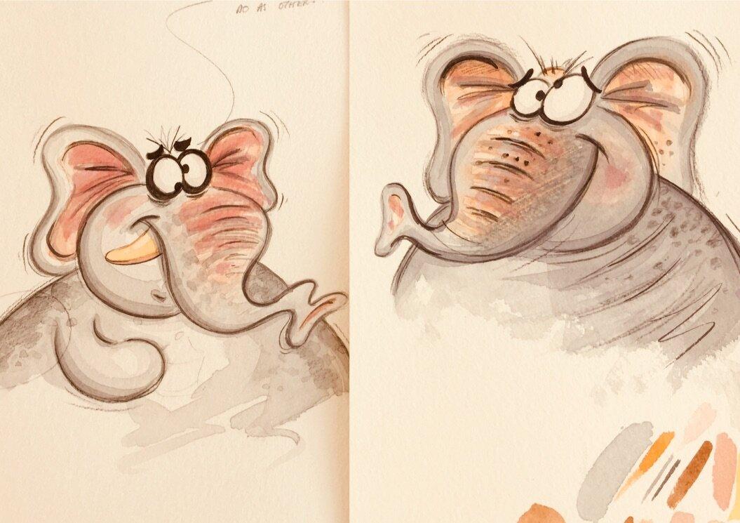 Bonkers Elephants!