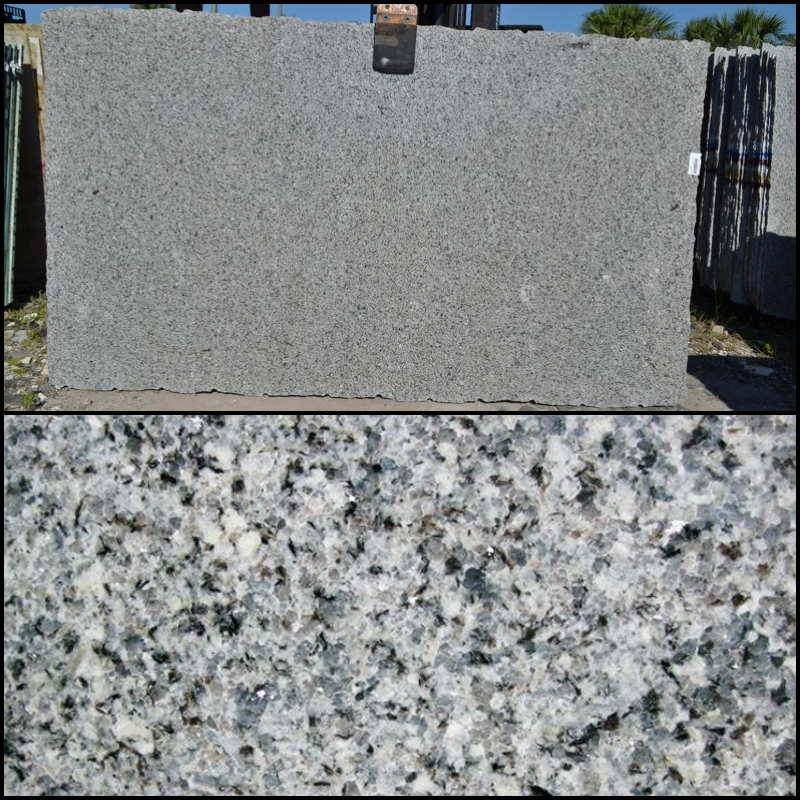Azul Platino - Finish: PolishedThickness: 3CMStone Type: GraniteCost: $Origin: SpainApplication: Indoor/Outdoor