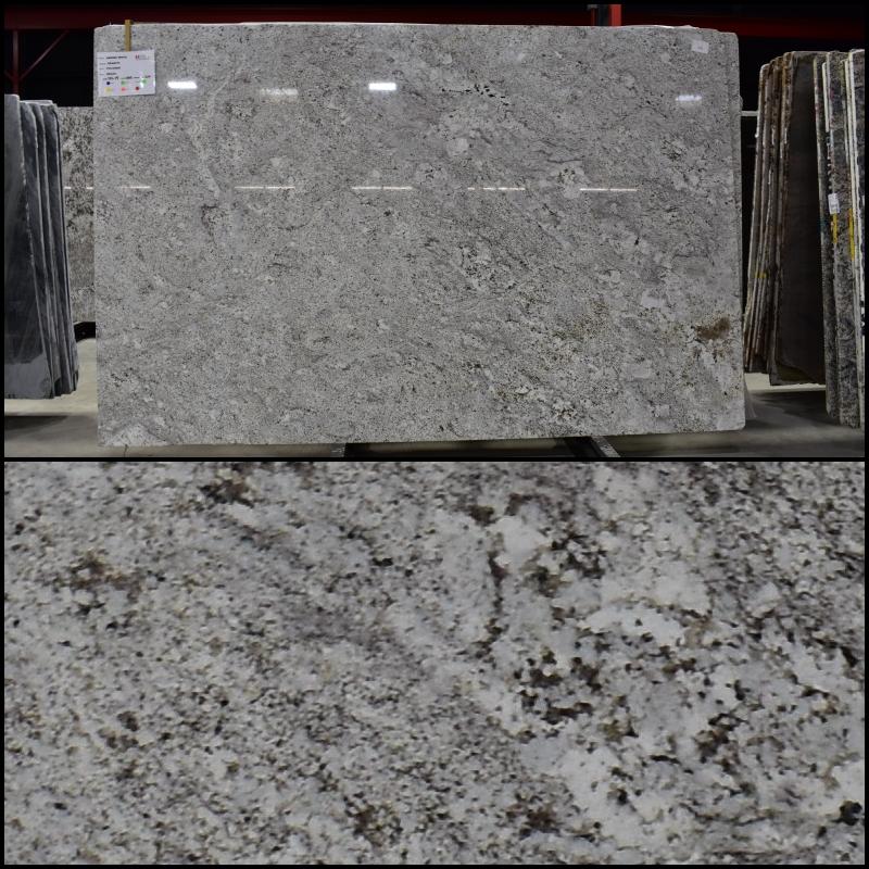 Andino White - Finish: PolishedThickness: 3CMStone Type: GraniteCost: $$Origin: BrazilApplication: Indoor/Outdoor