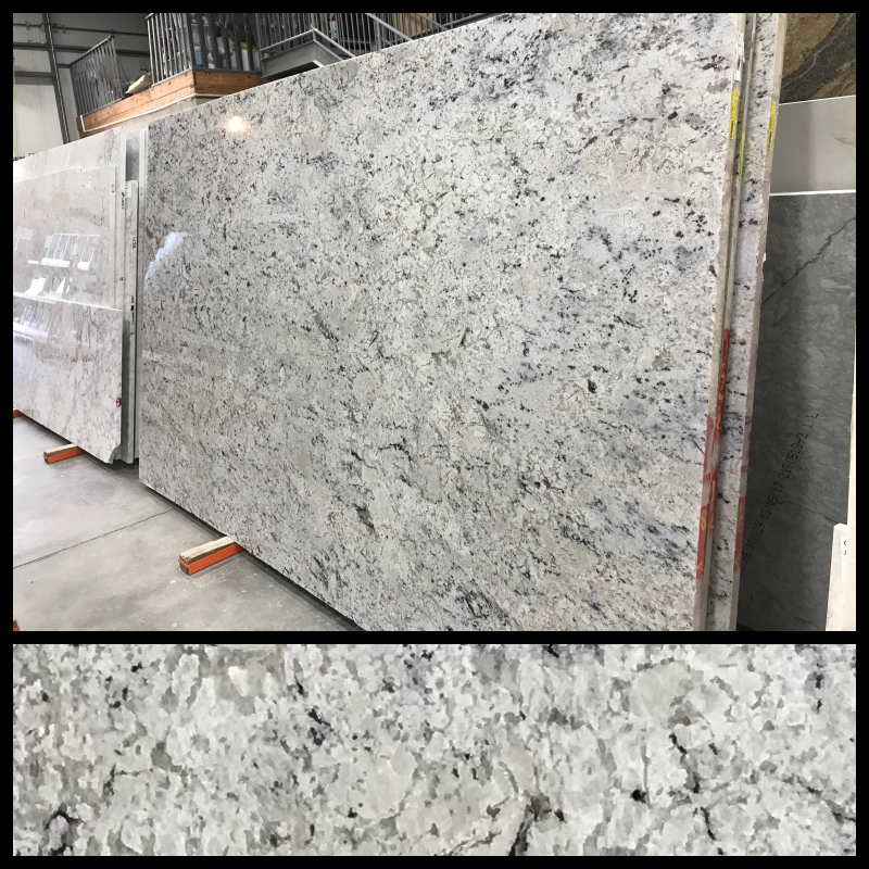 White Ice - Finish: PolishedThickness: 3CMStone Type: GraniteCost: $$Origin: BrazilApplication: Indoor