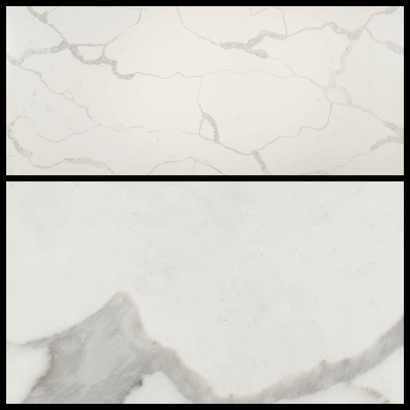 Q-MSI Calacatta Classique (Bookmatched) - Finish: PolishedThickness: 3CMStone Type: QuartzCost: $$$Origin: ChinaApplication: Indoor (Not recommended for fireplaces)Button to OTHER JOBS WITH THIS MATERIAL