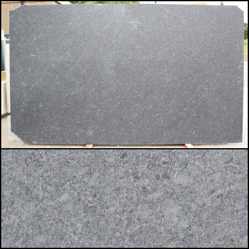 Steel Grey - Finish: LeatheredThickness: 3CMStone Type: GraniteCost: $Origin: IndiaApplication: Indoor/OutdoorButton to OTHER JOBS WITH THIS MATERIAL