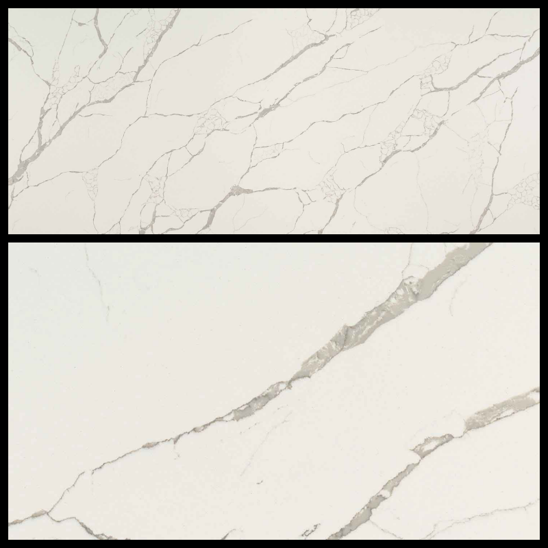 Q-MSI Calacatta Laza - Finish: PolishedThickness: 3CMStone Type: QuartzCost: $$$Origin: ChinaApplication: Indoor (Not recommended for fireplaces)