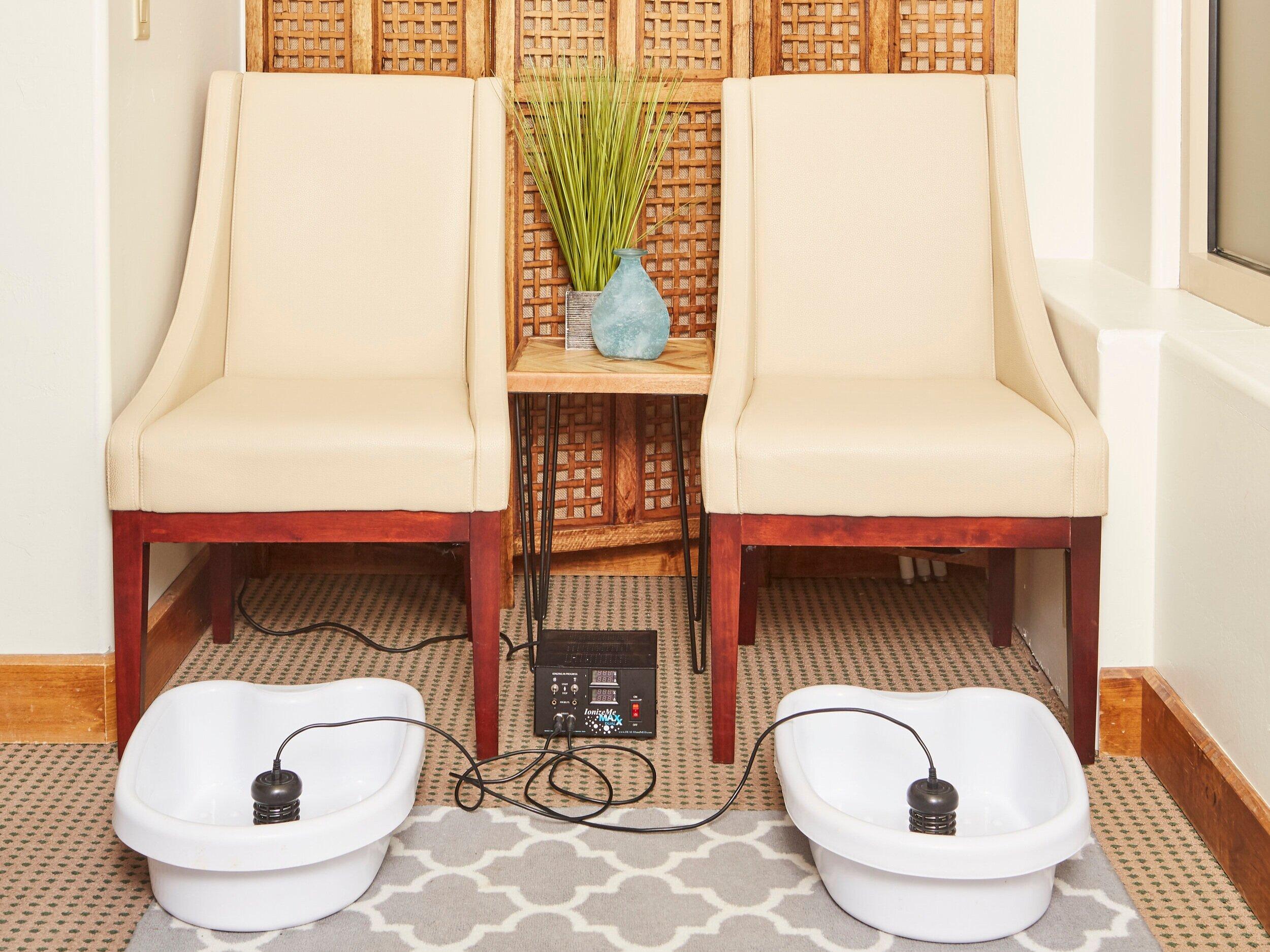 Ionic Cleanse Footbath -