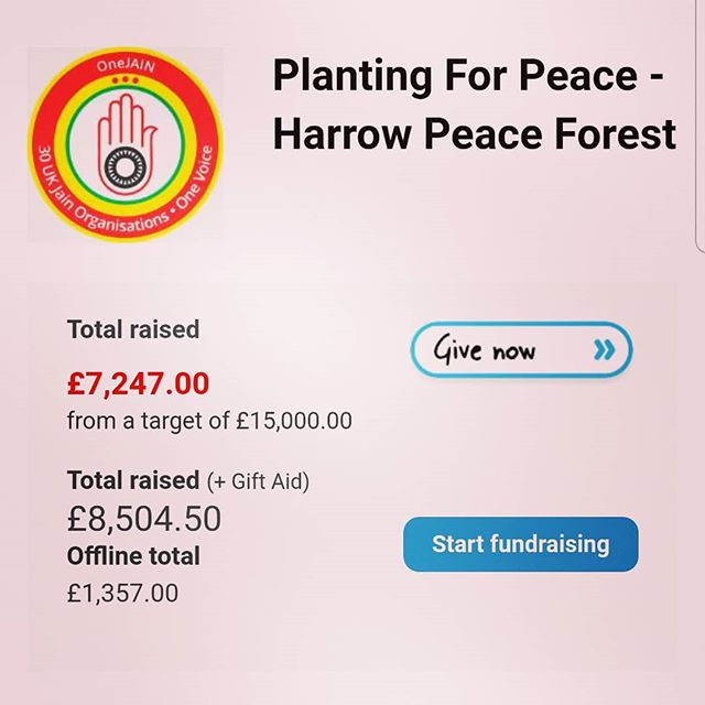 We're half way there but need your support! 🌳🌳Sponsor a Peace Tree for only £10 - help create a special space in the heart of Harrow. The ideal gift for all and our fragile planet!🌳🌳 Please share with your friends and family!  Donate at: www.plantingforpeace.org (link in bio) ♥  #climatechange #bethechange #plantingforpeace #planttrees #globalwarming #peace #environment #change #responsibility #sustainability #treevolution #reforestation #kenton #stanmore #edgware #london #harrow
