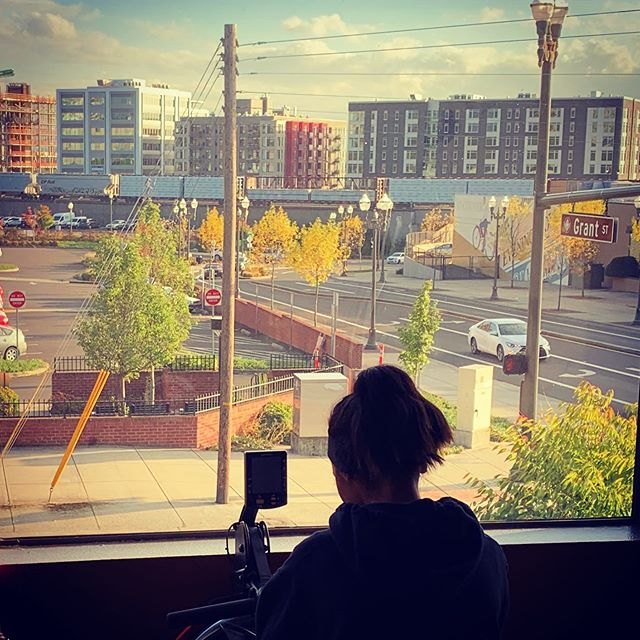 What a view! Love taking in #vancouverwa at #trufitatvws #comingsoon