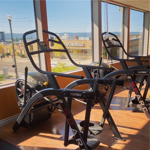 Some machines ready for you. More #comingsoon at #trufitatvws in #vancouverwa #personalfitness #fitnessfacility #vancouverwellnessstudio