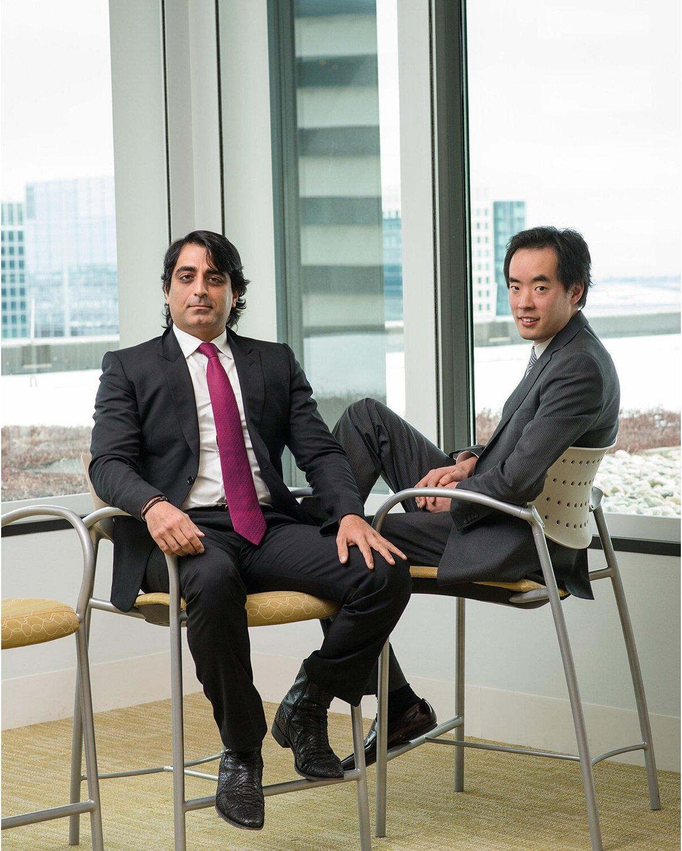 Rajiv Kaul and Eddie Youn, Fidelity (Barron's)