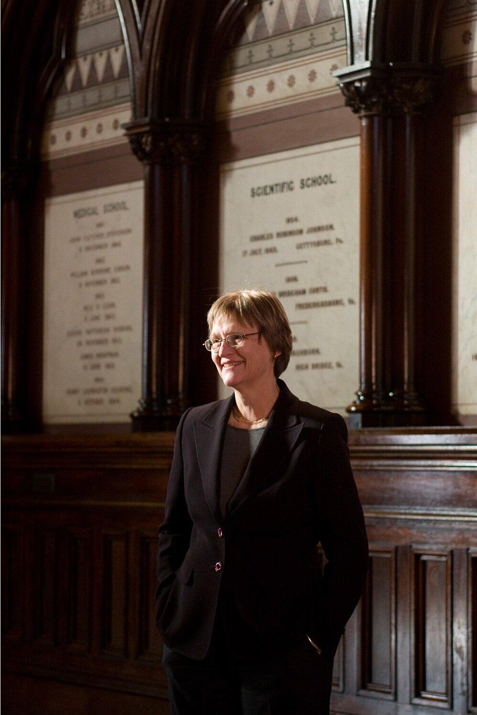 Drew Faust, President, Harvard University (The Chronicle of Higher Education)