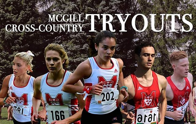 XC season is just around the corner! Do you like running and want to be part of an amazing team? Well this is for you 👇  Cross-country tryouts are scheduled for August 26, 2019. There will be a meeting from 10am to 12pm in room 408 of the Currie Memorial Gymnasium and practice will begin at 4pm. We will gather at Molson Stadium then go for a warm-up in Mont-Royal. ⛰️ Please inform head coach Dennis Barrett at dennis.barrett@mcgill.ca if you wish to participate in the tryouts or if you have any questions.  See you there! 😎🔥🏃♂️🏃♀️ @mcgillathletics