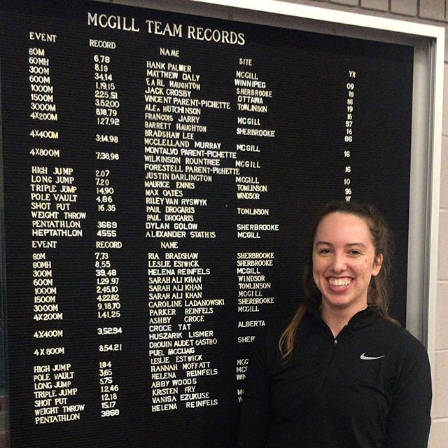 Congrats to our 4 new record holders!! More to come next year!!! 🤩🤩💪🏻 #mcgillpride