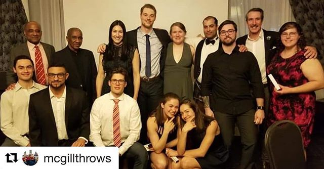 #Repost @mcgillthrows ・・・ Congratulations to all @mcgilltrack graduating athletes! We're going to miss you! ❤️#mcgillpride
