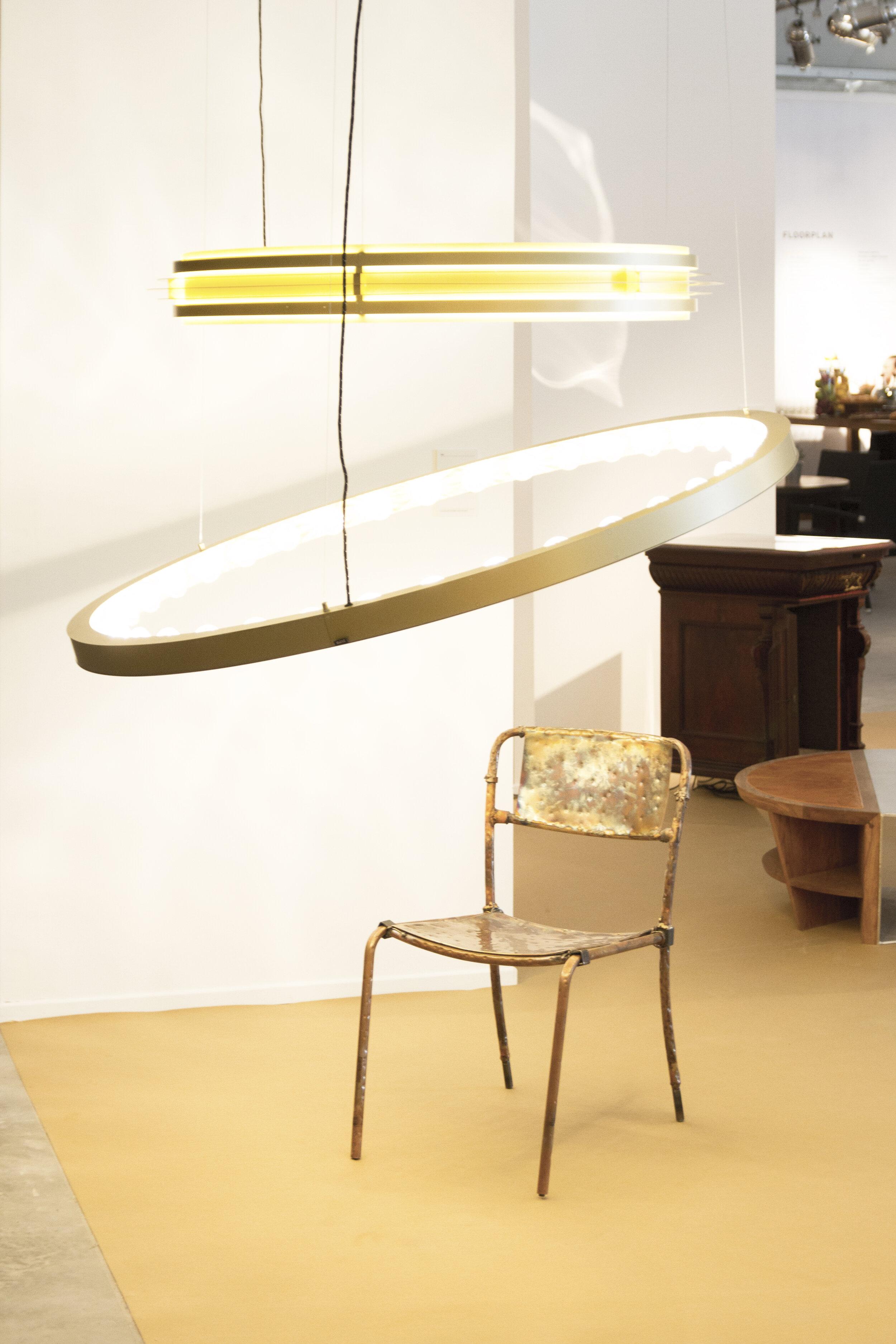 Light by JSPR / Chair by Niek van der Heijden