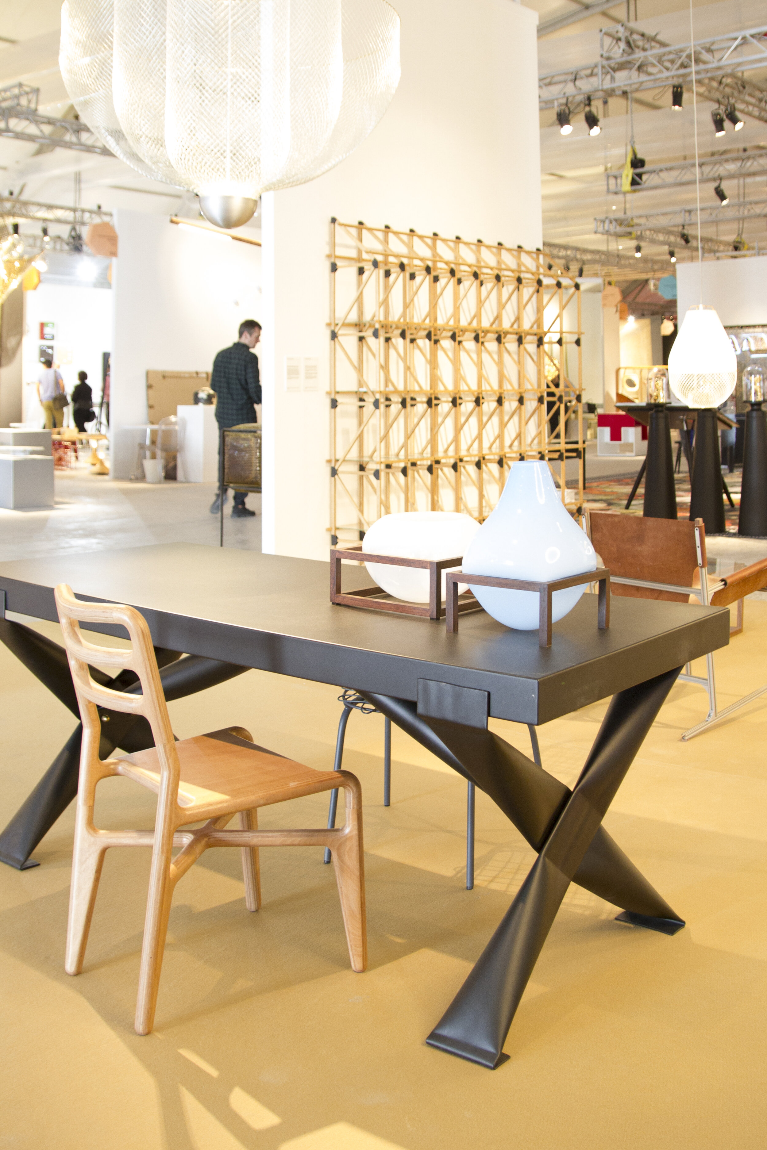 Table vases by Thier en van Daalen
