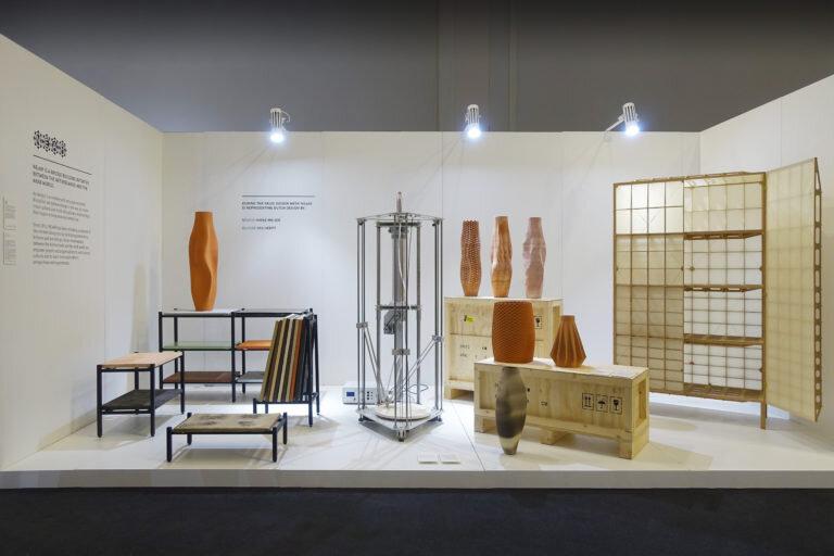 Vases by Olivier van Herpt / Cupboard by Studio Mieke Meijer