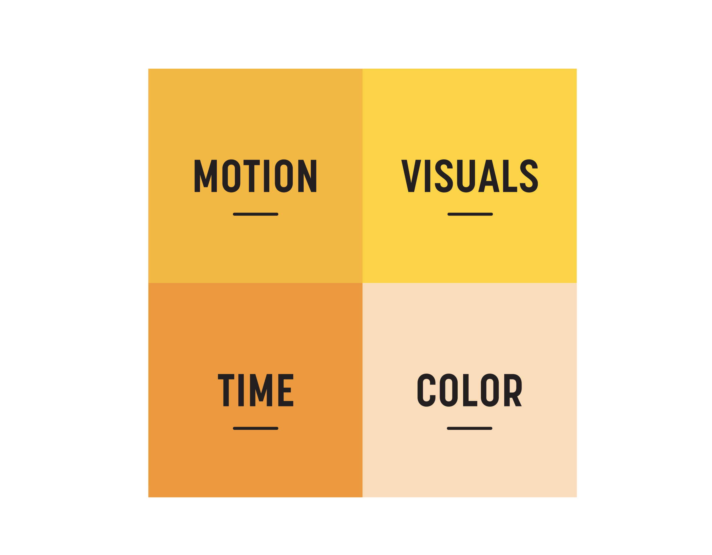Learn the 4 key ingredients to visual Engagement - 46.1% of people say a company's design is the number one criterion for discerning their credibility. Visuals are so vital, but so easy to get wrong.• Motion: Use movement appropriately• Visuals: Multiple visuals for different viewers• Time: The proper length of time to display visuals• Color: Use color to evoke strong emotions