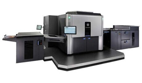 The HP Indigo 10000's larger press format makes it possible to produce unconventional sizes