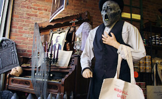 Take a leisurely Marshall Ghost Tour by some of Marshall's most haunted homes and buildings to hear the stories of a past untold until now! April-October. 269-781-8818