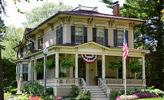 """Marshall is the home of """"The Granddaddy of Historic Home Tours."""" It takes place on the second weekend of September and a Candlelight Tour on the second weekend of December.  Read more about the tours ."""