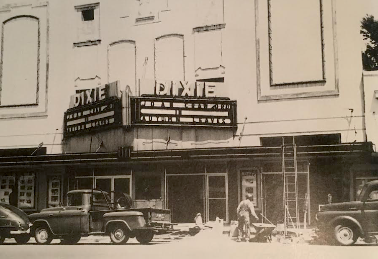 1950s Renovation of the Dixie. Provided by Images of America: Ruston.