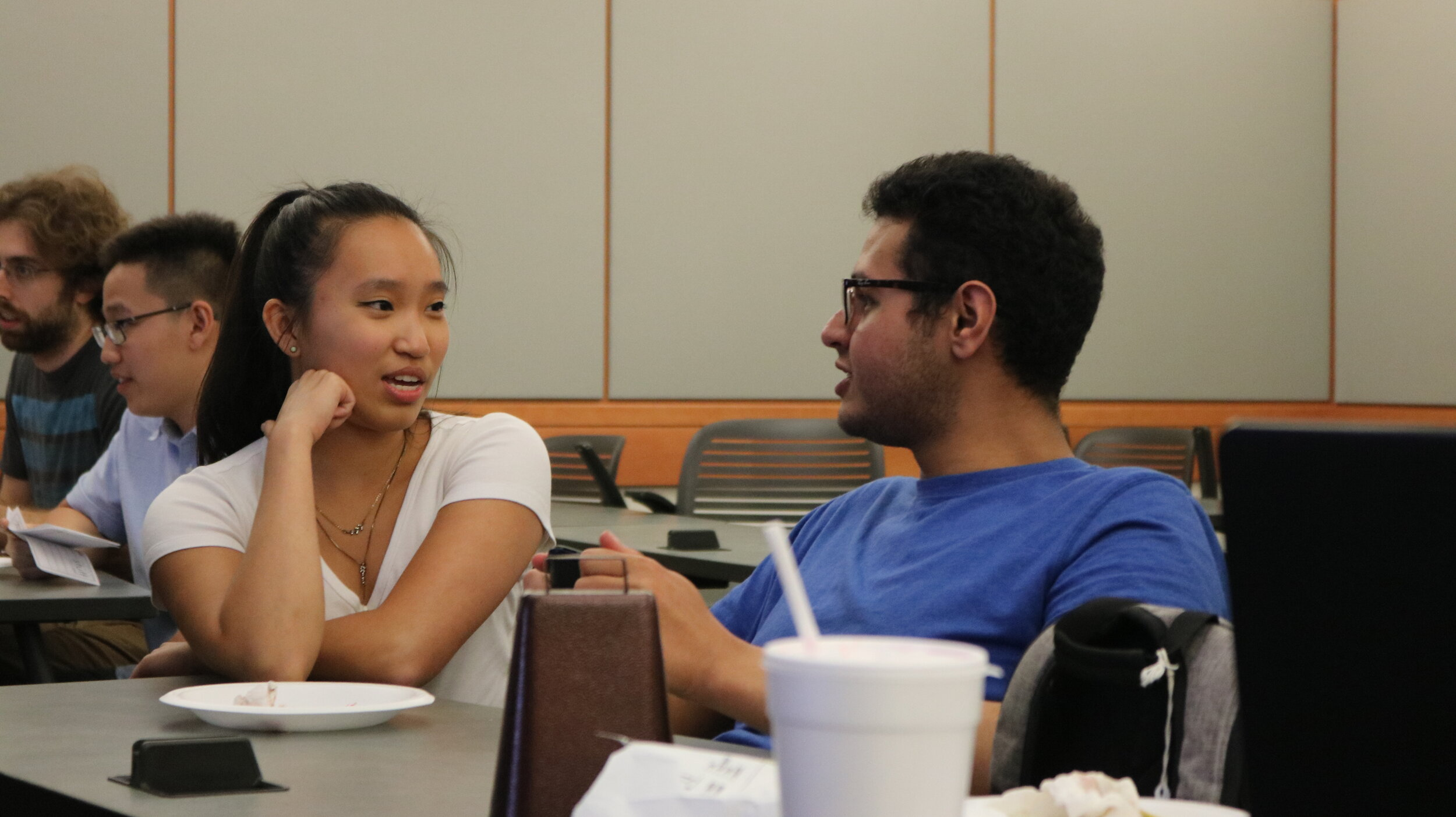 Not sure if this is your thing? - meet with a current student to learn more about the program