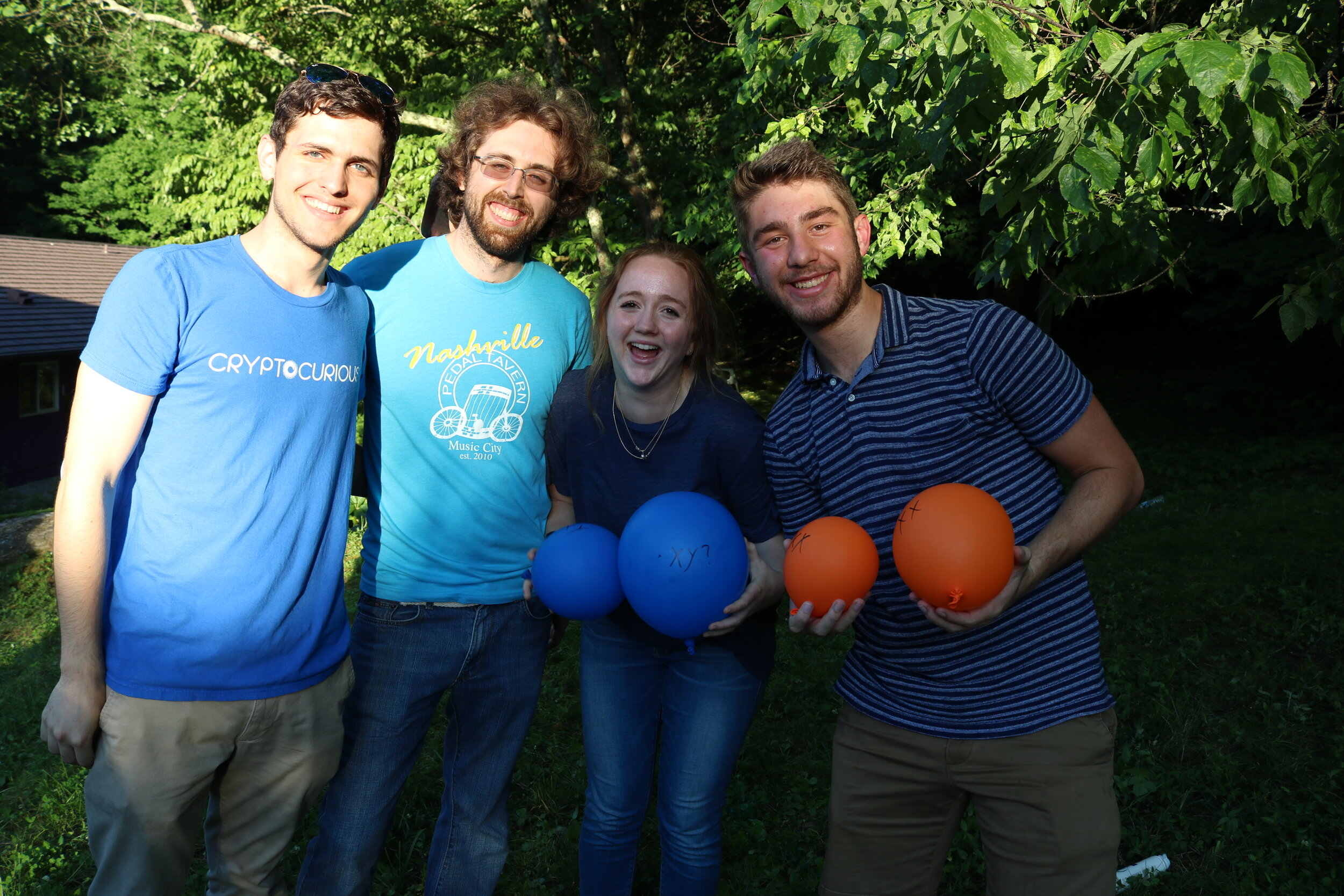 House competition games at our 2018 summer launch party!