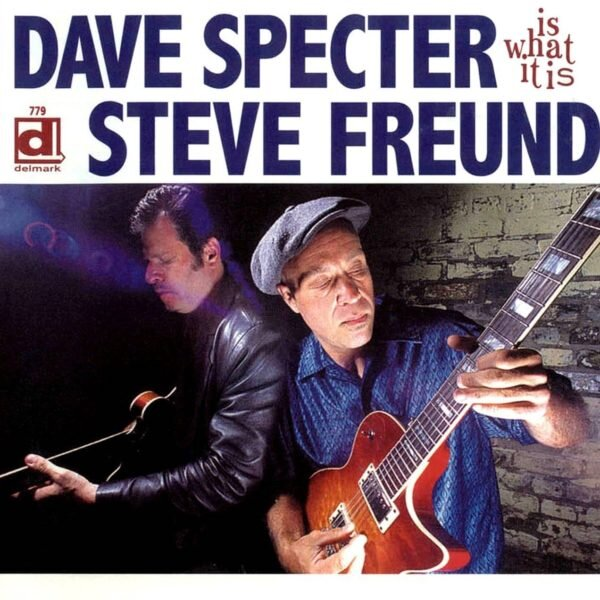 """IS WHAT IT IS - Dave Specter and Steve Freund have been personal and musical friends for many years. Guitarist Dave Specter has always straddled the blues/ jazz fence with a hip disregard for arbitrary restrictions. Once again Dave has put his distinctive mark on a collection of outstanding instrumentals from all corners of blues and its related genres. The result will please all lovers of lean, inspired guitar work. Is What It Is brings the two guitarists together for a smokin' blues date that has a perfect balance of Steve's heartfelt vocals on his new original songs and Dave's instrumentals, including """"People Get Ready"""", """"While My Guitar Gently Weeps"""", """"Albatross"""", and more Specter and Freund originals."""