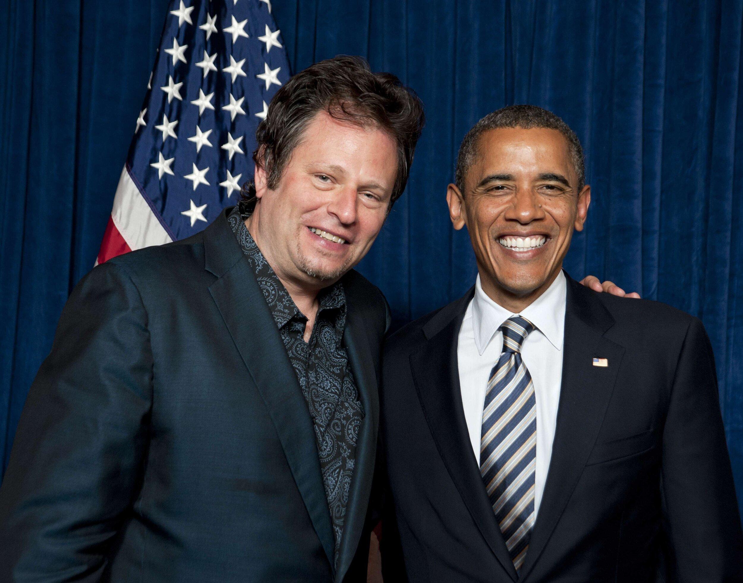 Dave Specter & President Obama 2012