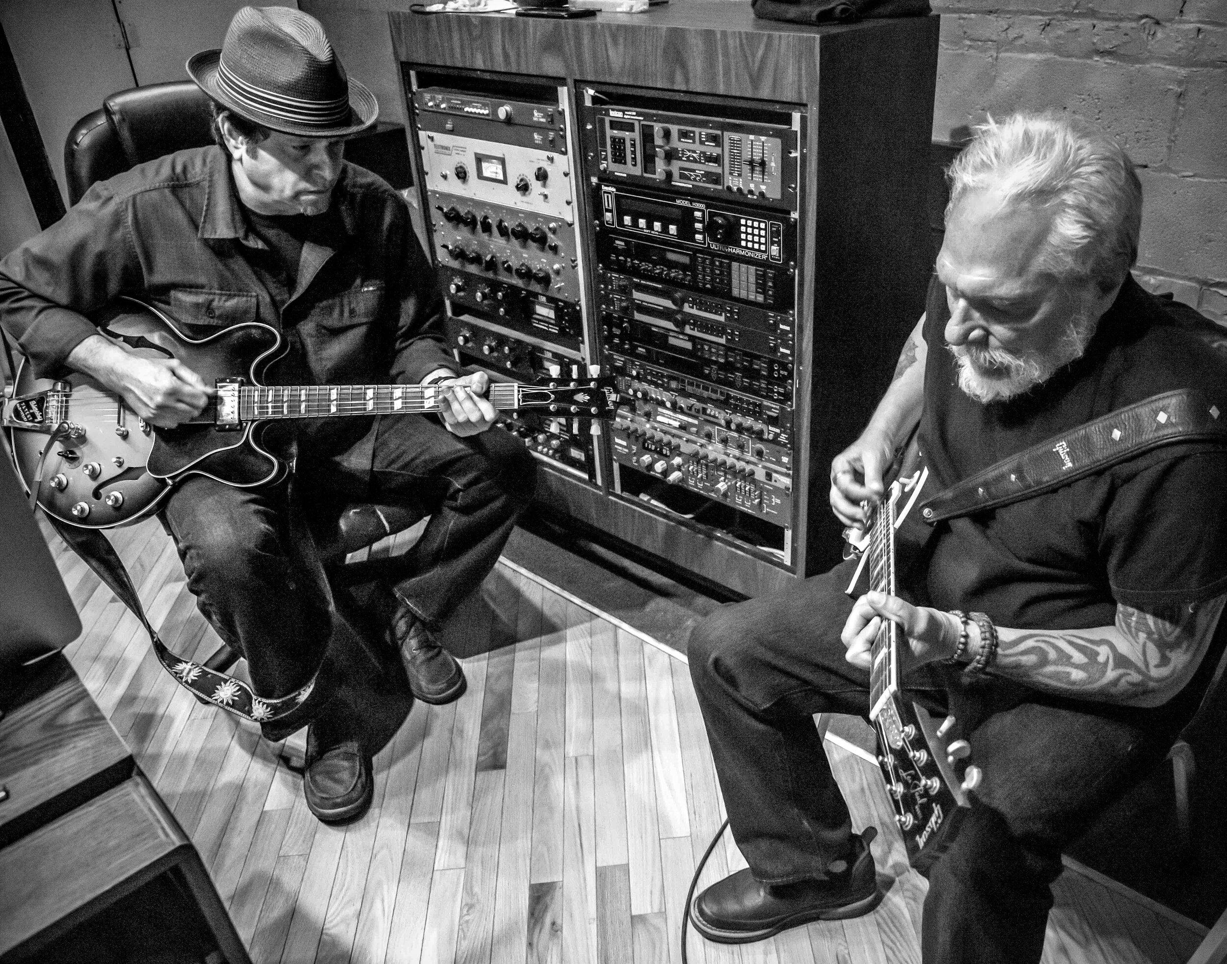 Dave Specter & Jorma Kaukonen Photo: Harvey Tillis