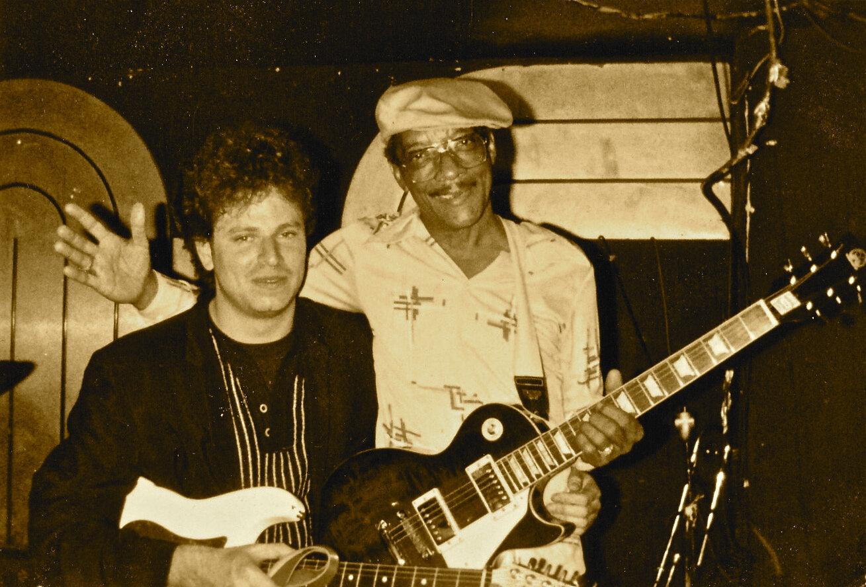 Dave & Hubert 1985.jpg