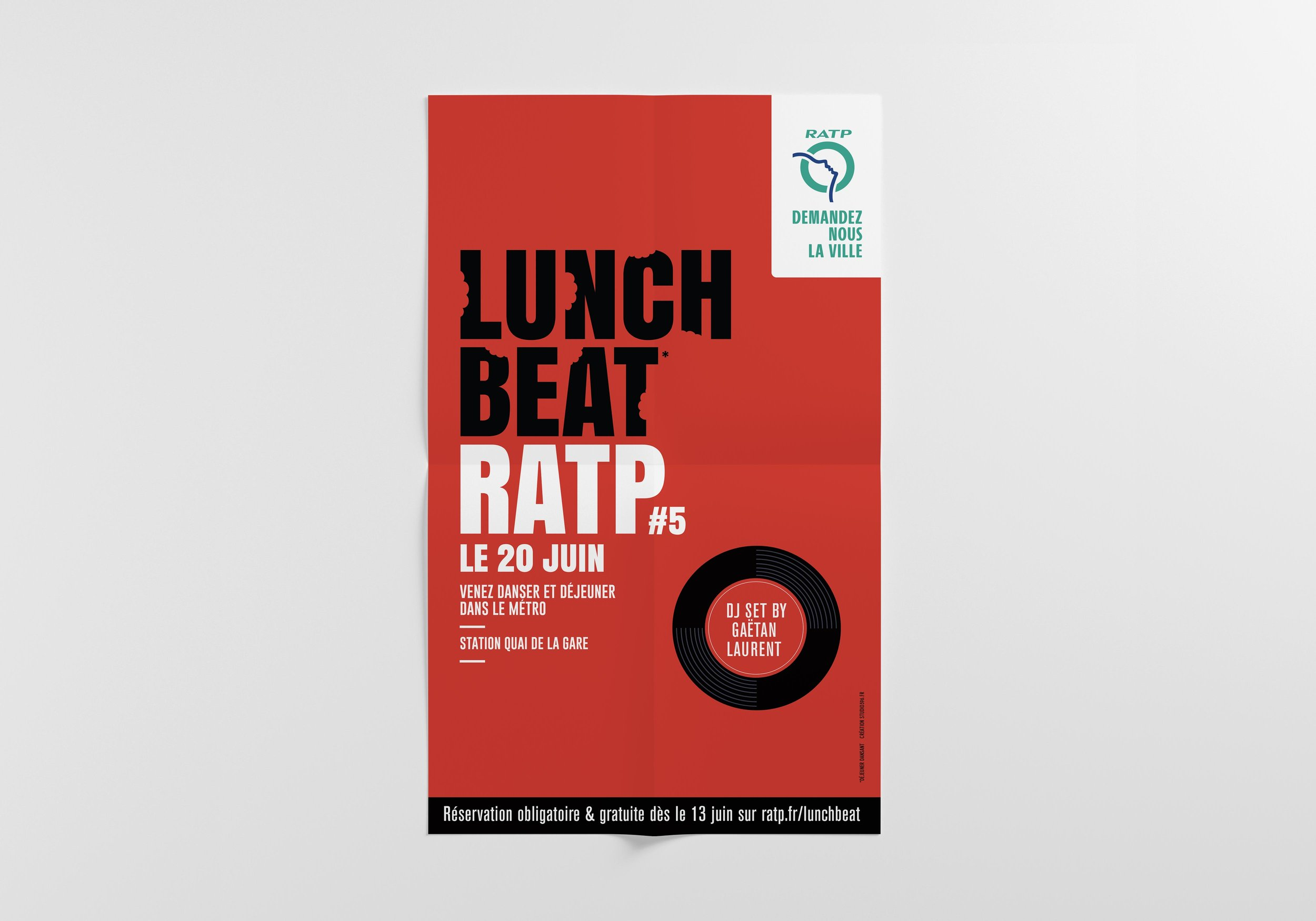 RATP Lunch Beat