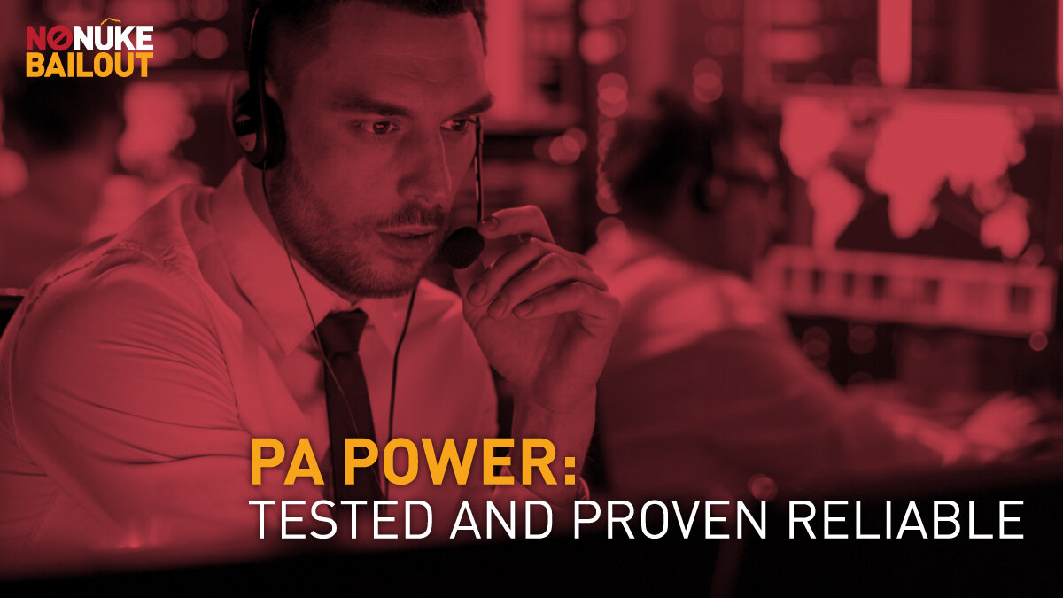 PA grid operator ensuring that the electric grid for PA continues to be reliable and without issue.