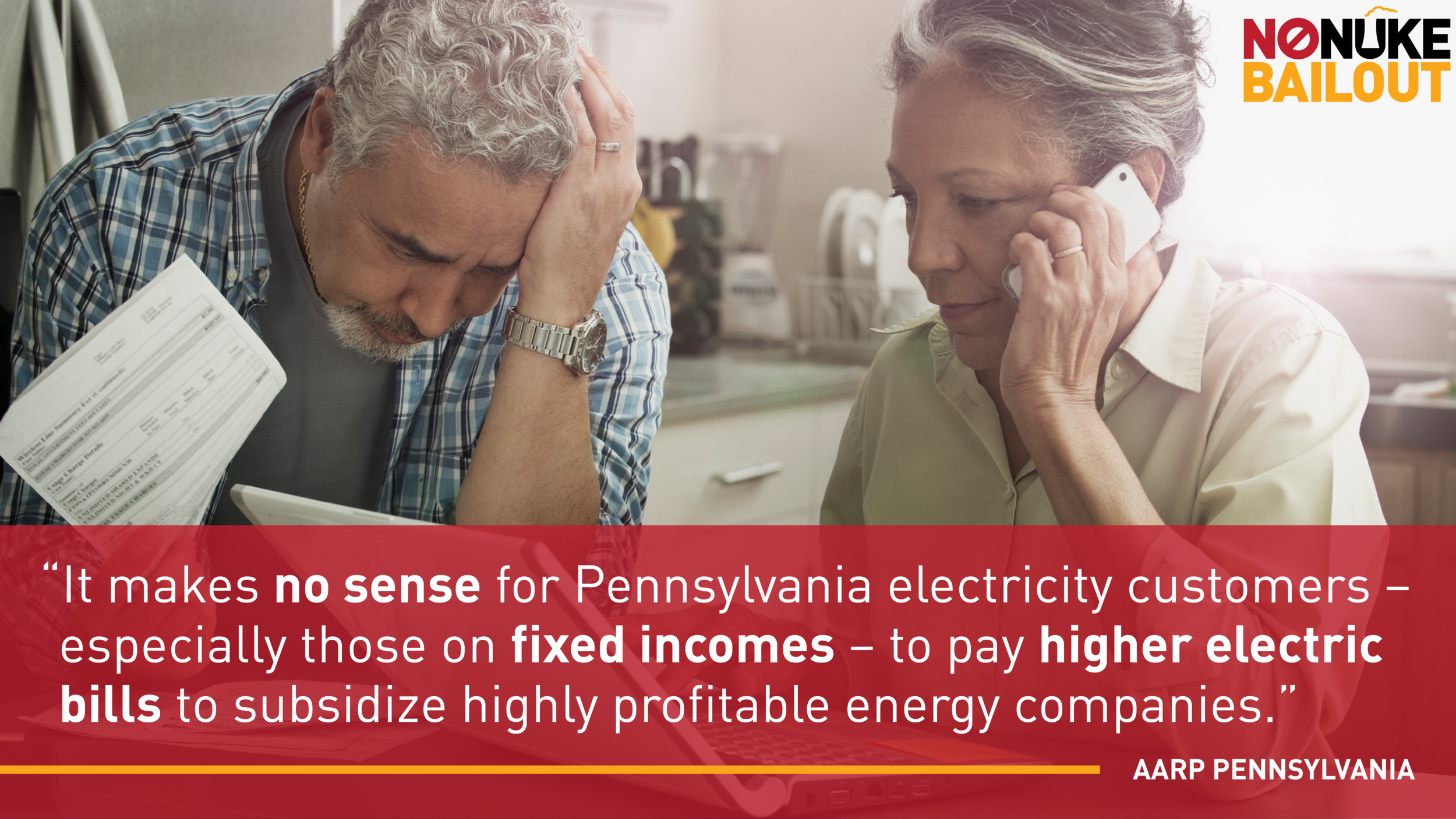 Comment from AARP Pennsylvania about a nuclear bailout in PA.