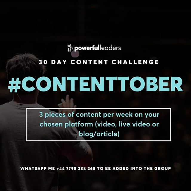 Content is KEY to connecting with your audience and accountability is CRUCIAL to making sure we actually do it.⠀⠀⠀⠀⠀⠀⠀⠀⠀ ⠀⠀⠀⠀⠀⠀⠀⠀⠀ Come and join a few of us for #contentober to get some support, motivation and much needed encouragement.⠀⠀⠀⠀⠀⠀⠀⠀⠀ ⠀⠀⠀⠀⠀⠀⠀⠀⠀ Whatsapp or message me if you're keen to join :) ⠀⠀⠀⠀⠀⠀⠀⠀⠀ ⠀⠀⠀⠀⠀⠀⠀⠀⠀ #personalbrand #personalbranding #purposefulbranding #startwithwhy #businessofyou #contentmarketing #coffeeshopworking #growyourbrand #influencer #entprepreneur #workforyourself #coach #consultant #worktolivedontlivetowork #powerfulbranding #selflove #selfcare #celebratinguniquness
