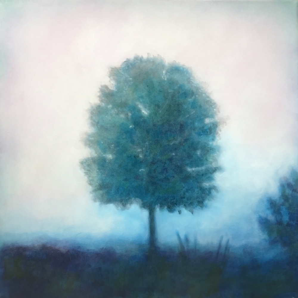 Misty Morning - original painting by Anna Vyce
