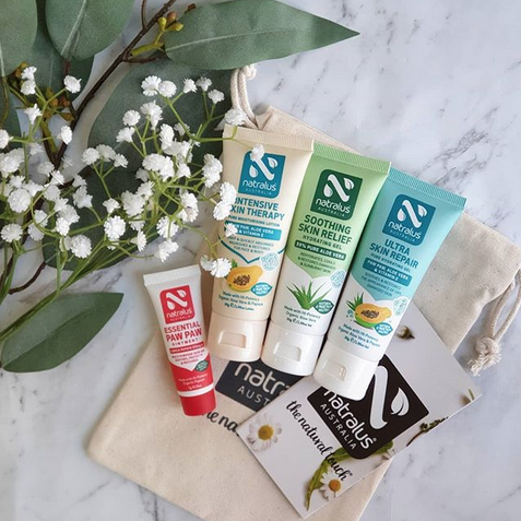 Are you missing out on one of the best-kept beauty secrets?    Natralus 100% Natural Australian Brand    More than just a Lip Balm! Natralus    Hydrate cracked dry skin