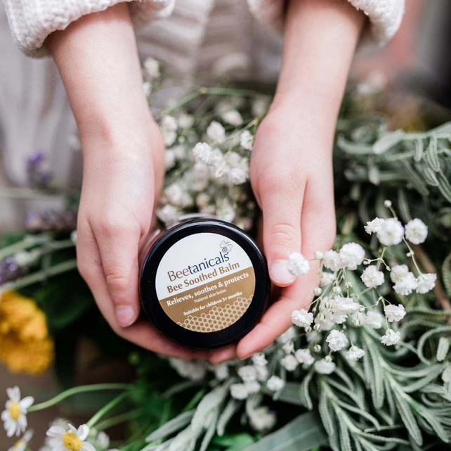 Natural, chemical-free skincare, Using beeswax & Manuka honey from our hive + Natives, Certified Clean & Pure, Australian Made & Owned.